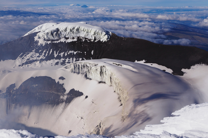 Cotopaxi summit, adventure travel, South America