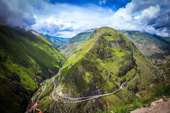 DEVIL'S NOSE TRAIN - ECUADOR, South America