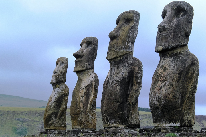 EASTER ISLANDS, CHILE, South America