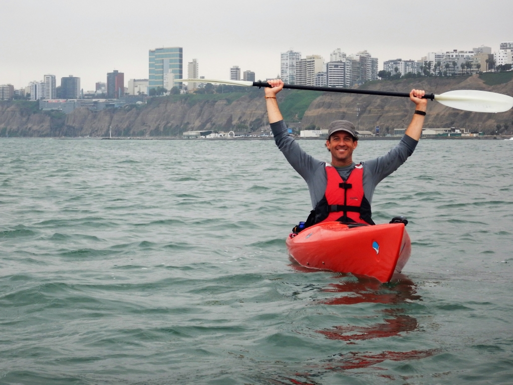 Sea kayaking, Lima, Adventure Travel, Untamed Path Adventures, Jeff Boyd