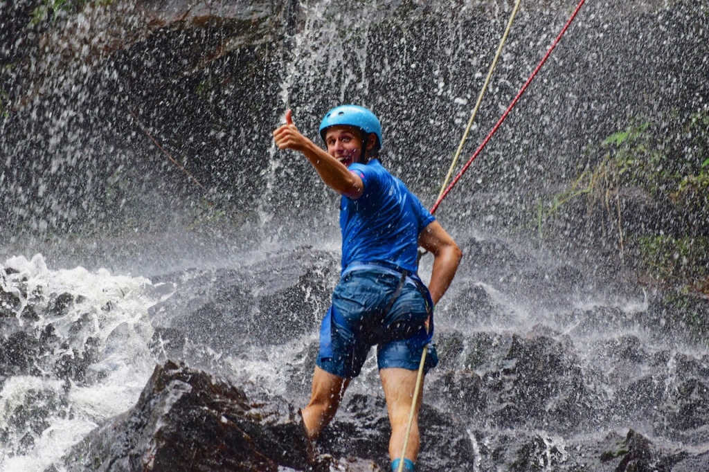 Colombia, Canyoneering, Rappelling, adventure travel, adventure sports, Untamed Path, South America