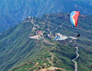 PARAGLIDING - CHICAMOCHA - COLOMBIA, South America