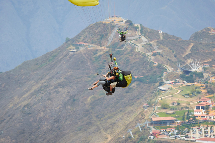 PARAGLIDING, South America