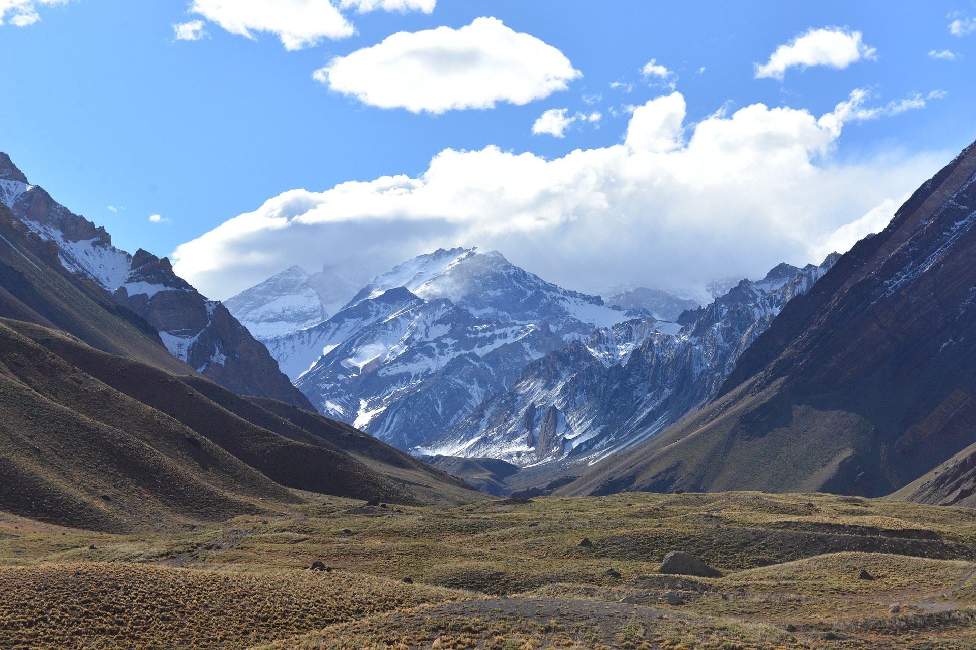 ANDES, CAMPING, South America
