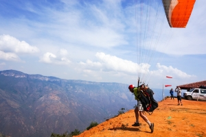 paragliding, custom trips in colombia, adventure travel, south america