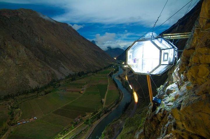Skylodge, custom trips in peru, adventure travel, south america