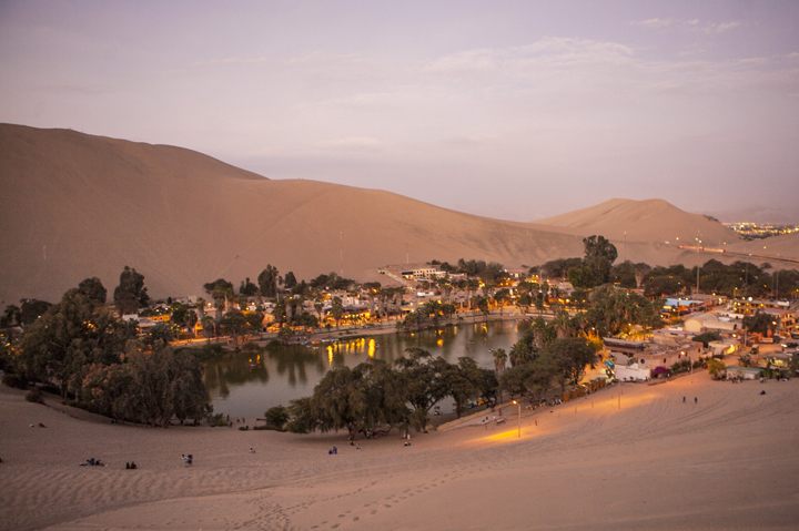 HUACACHINA - PERU, South America